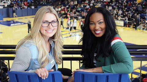 The FOX Sports Wisconsin Girls enjoyed checking out the Al McGuire Center on Marquette's campus while watching their favorite NBA team in action.