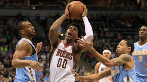 Nuggets at Bucks: 2/20/15