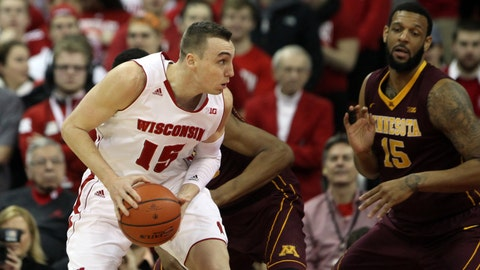 PHOTOS: Badgers 63, Gophers 53