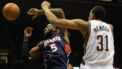 PHOTOS: Hawks 97, Bucks 86
