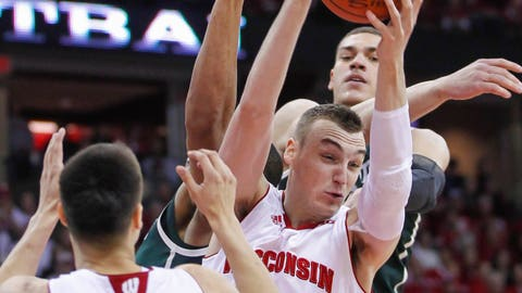 Spartans at Badgers: 3/1/15