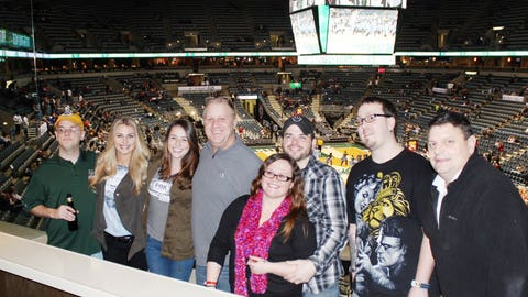 Congrats, Brad! We hope you enjoyed your night in the FOX Sports Wisconsin suite with the folks from WDUZ!