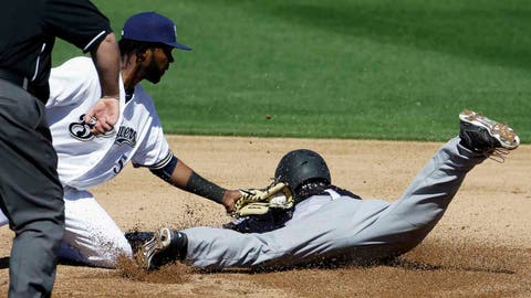Brewers vs. Panthers exhibition: 3/4/15