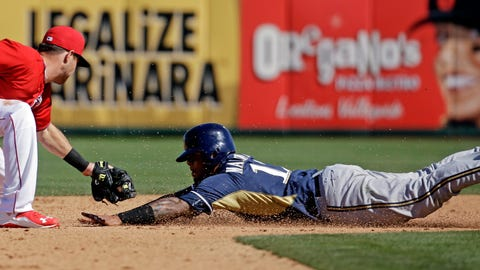Brewers vs. Angels: 3/5/15