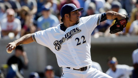 Brewers vs. Dodgers: 3/6/15