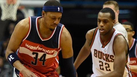 PHOTOS: Bucks 91, Wizards 85