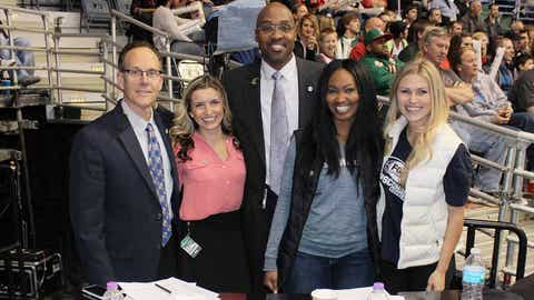 The FOX Sports Wisconsin crew is happy to have the Bucks back at home!