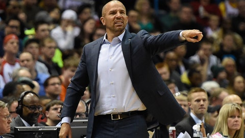 Jason Kidd. Record: 41-41