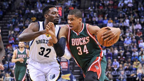 Bucks at Grizzlies: 3/14/15