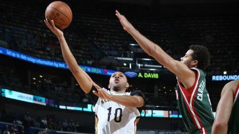 PHOTOS: Pelicans 85, Bucks 84
