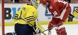 Badgers hockey vs. Wolverines: 3/19/15