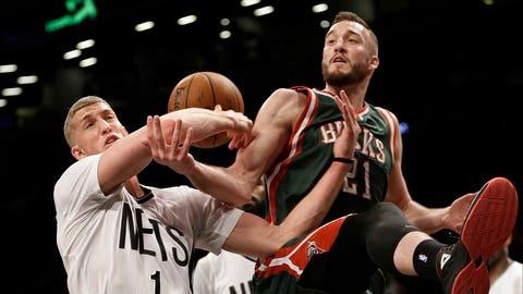 Bucks at Nets: 3/20/15
