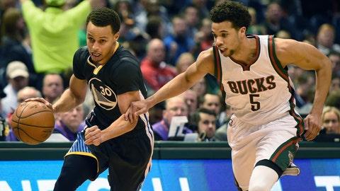PHOTOS: Warriors 108, Bucks 95