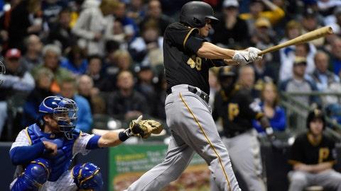Brewers vs. Pirates: 4/10/15-4/12/15