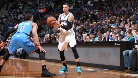 PHOTOS: Thunder 138, Wolves 113