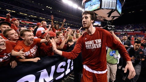 Frank Kaminsky, ex-Badgers center
