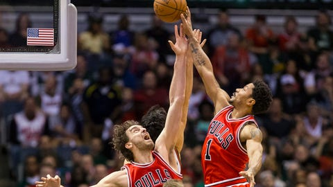 PHOTOS: Bulls 113, Bucks 106