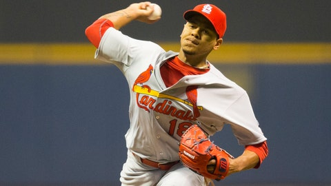 Brewers vs. Cardinals: 4/24/15-4/26/15