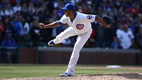 Brewers at Cubs: 5/1/15-5/3/15