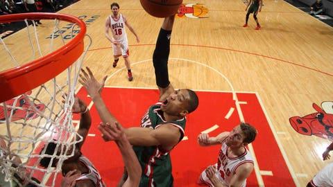 Bucks at Bulls, Game 5: 4/27/15