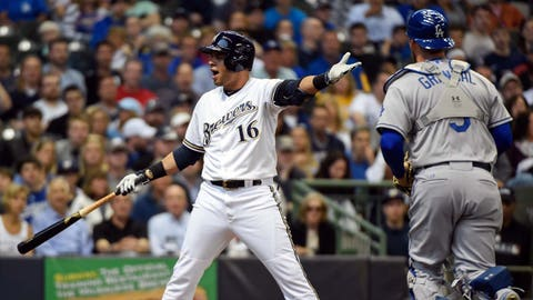 Dodgers at Brewers: 5/4/15-5/7/15
