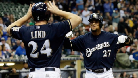 Brewers vs. White Sox: 5/11/15-5/13/15