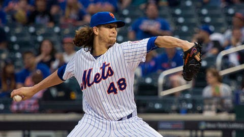 16. Jacob deGrom, SP, New York Mets (9-6, 2.14 ERA, 112 K)