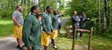 PHOTOS: Packers go clay shooting