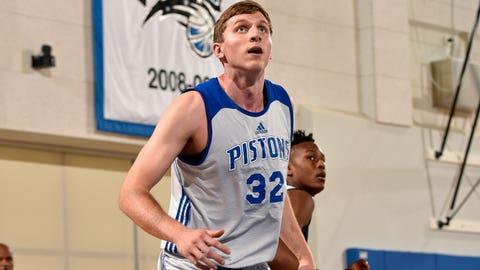 Jared Berggren, forward/center, Detroit Pistons