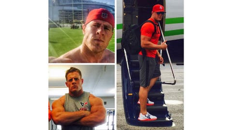 J.J. Watt, Texans and ex-Badgers defensive end