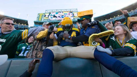 Chargers at Packers: 10/18/15