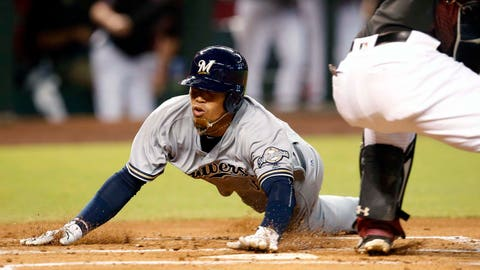 Orlando Arcia will hit 10 homers and steal 30 bases.