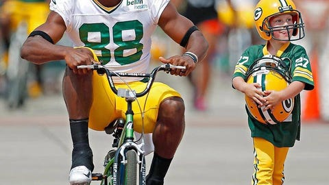 Ty Montgomery, Packers wide receiver