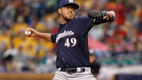 Brewers at Rays: 7/28/14-7/30/14