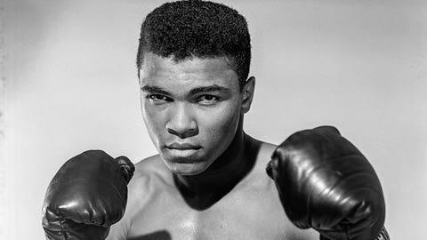 1974 -- Muhammad Ali