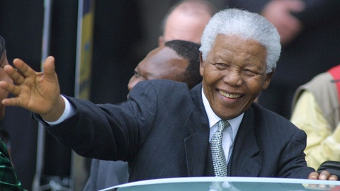 Nelson Mandela was released from prison