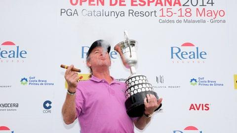 Oldest golfer to win on European Tour