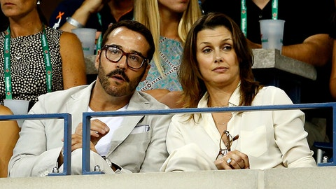 Actors Jeremy Piven and Bridget Moynahan