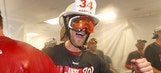 Orioles, Nationals clinch divisions, celebrate in style