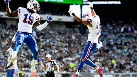 Robert Woods (right) and Mike Williams