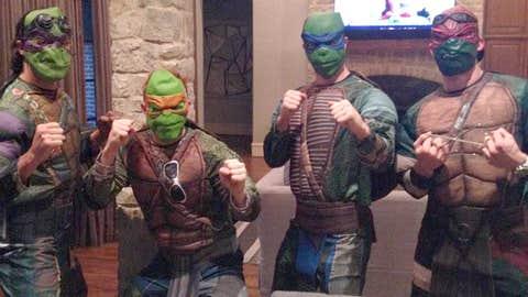 Dallas Stars Ninja Turtles
