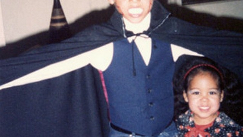 Young Derek Jeter as Dracula