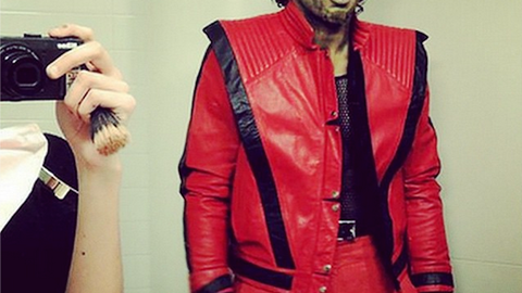P.K. Subban as Michael Jackson in 'Thriller'
