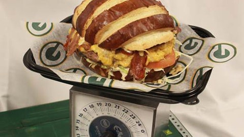 Green Bay -- Big Game Burger