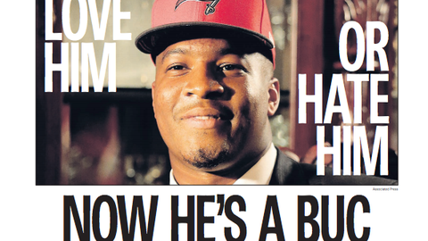 Cover Boys: NFL Draft first-rounders nab newspaper covers around the country