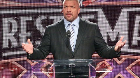WWE superstar (and COO), HHH