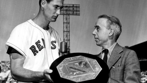 Ted Williams: Boston Red Sox (1939-1942, 1946-1960)