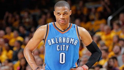 5. Russell Westbrook, PG, Oklahoma City Thunder