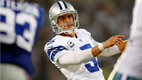 Kicker: Dan Bailey, Dallas Cowboys