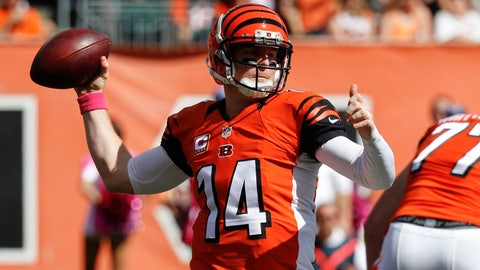 Bengals (-5.5) over BROWNS (Over/under: 43)